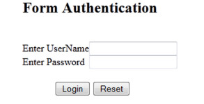 Form-Authentication