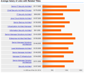 Security Architect Salary